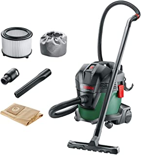 Bosch Wet and Dry Vacuum Cleaner with Blowing Function Universal Vac 15 (1000 Watt, 15 Litre, in Box)