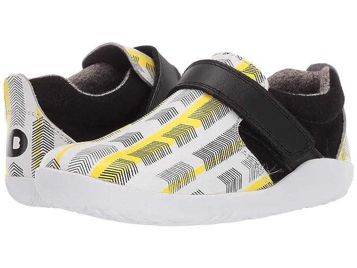 Bobux Kids  I-Walk Aktiv Arrows (Toddler) (Black/Yellow) Kids Shoes