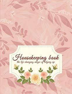 Housekeeping book: Household Planner, Daily Routine Planner, Cleaning and Organizing Your House 120 Pages Large Size 8.5