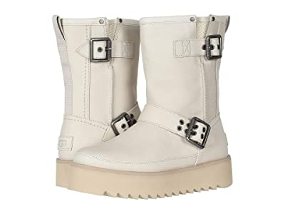 UGG Classic Rebel Biker Short (Bone) Women