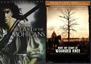Native American Award Winners: The Last Of The Mohicans & Bury My Heart At Wounded Knee 2 DVD Bundle