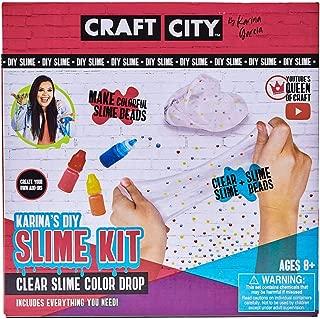 Craft City Karina Garcia DIY Slime Kit | Color Drop | Children Ages 12+