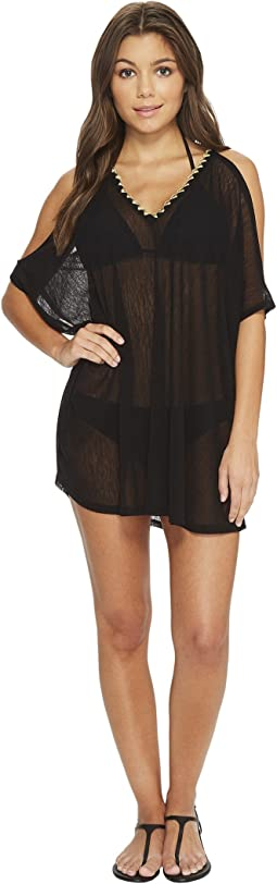 Francesca Open Shoulder Tunic Cover-Up