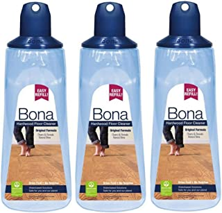 Bona WM700054001 Hardwood Floor Cleaner (3 Pack) 34 oz. Cartridge