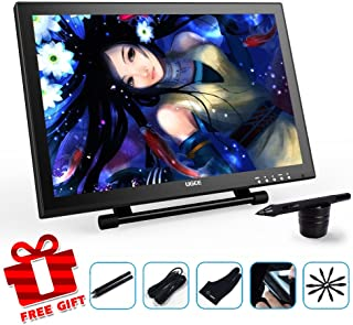 Ugee UG1910B 19 Inches Art Design Pen Display Graphics Drawing Monitor with 2 Rechargeable Pens, 1 Drawing Glove and 1 Screen Protector