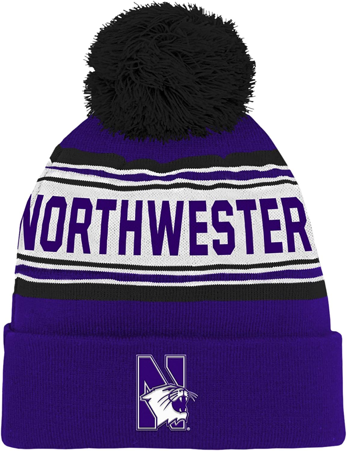 NCAA Boys NCAA Kids & Youth Boys Cuffed Knit with Pom Hat