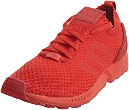 adidas Men's Zx Flux Primeknit Red/Ankle-High Cross Trainer Shoe - 9.5M