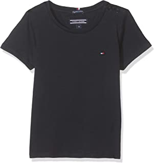 TOMMY HILFIGER Kids Basic Crew Neck Knit Tee