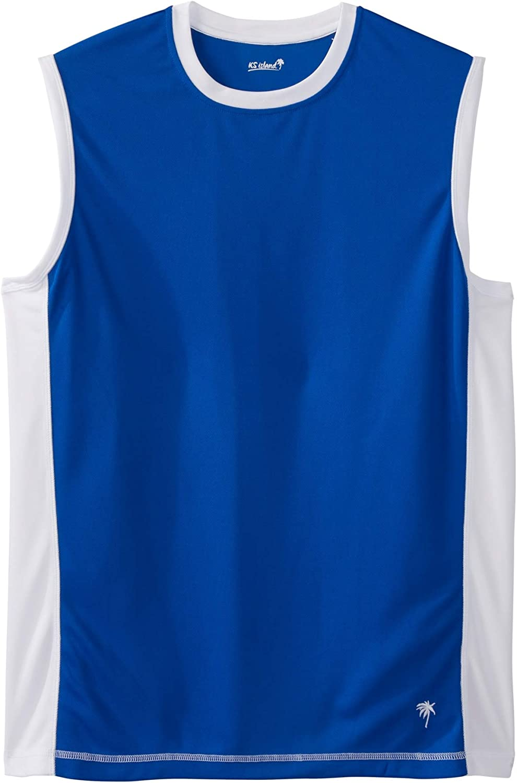 KingSize KS Island Men's Big & Tall Muscle Swim Shirt Rash Guard