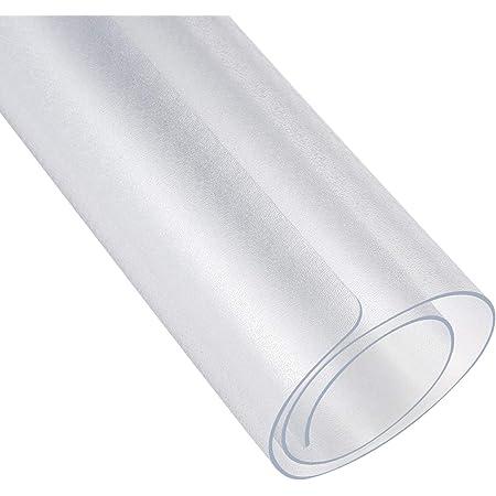 [ECO SPACE] 冷蔵庫 マット 耐震 キズ防止 凹み防止 床保護シート PVC板 フロスト透明 (Lサイズ:70×75cm~600Lクラス)