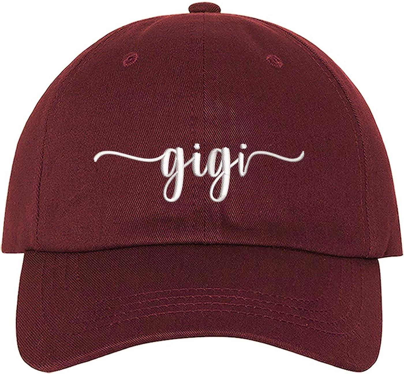 DSY Lifestyle Gigi Embroidered Unisex Baseball Hat - Gigi Dad Hat