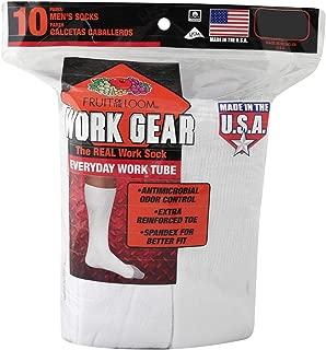 Men's Work Gear Heavy Duty Tube Socks