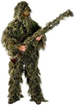 Ghillie Suit Men's 5 Piece Supreme Woodland Camo Ghillie Green