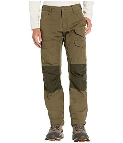Fjallraven Vidda Pro Ventilated Trousers (Laurel Green/Deep Forest) Men