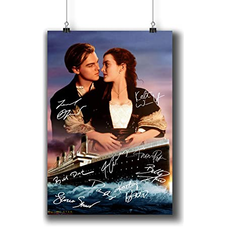 Titanic Rose /& Jack Movie Poster Style Christmas Ornament//Magnet//DHM
