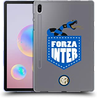 Official Inter Milan Forza Inter 2018/19 The Big Grass Snake Soft Gel Case Compatible for Samsung Galaxy Tab S6 (2019)