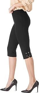 Women's Millennium Stretch Threaded Buckle Capri Pants