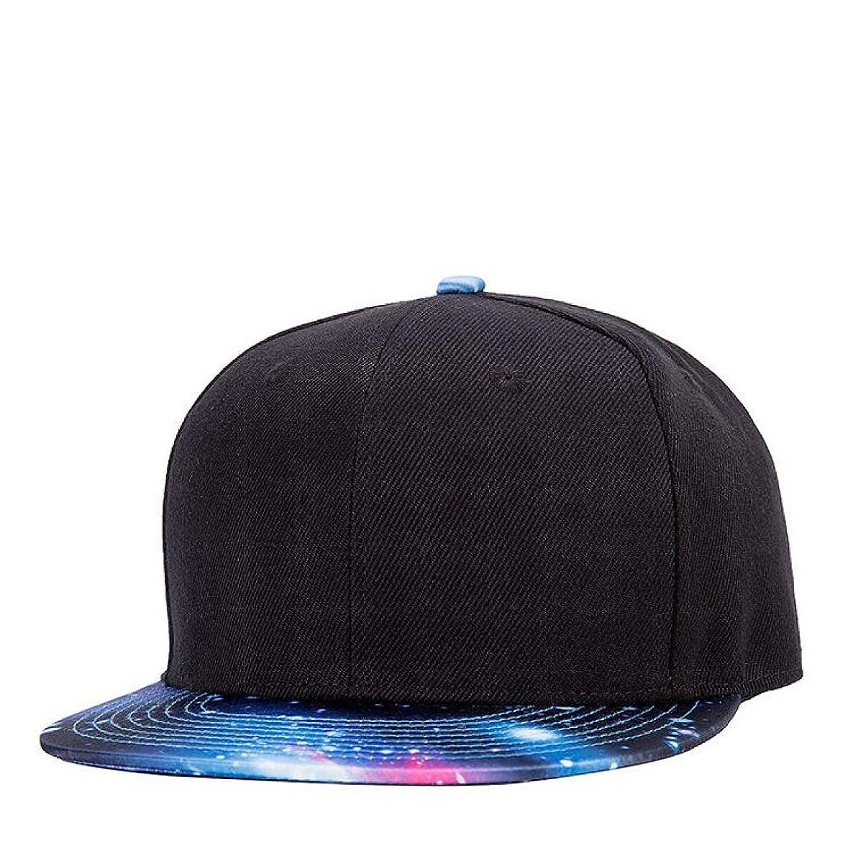 Caps Men Women Flat Brim Hip Hop Hat 3D Print Star Caps with Straight Snapback Cap