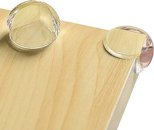 CalMyotis coin de table protection bebe, Protecteurs d'Angle transparents avec adhésif renforcé, Protection coin de t...