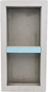 Houseables Shower Niche, Insert Storage Shelf, 12 x 28 Inch, Leak-Proof, Waterproof, Recessed Preformed Niches, Tileable Prefab Shelves for Bathroom, Prefabricated Deep Wall Toiletry Organizer