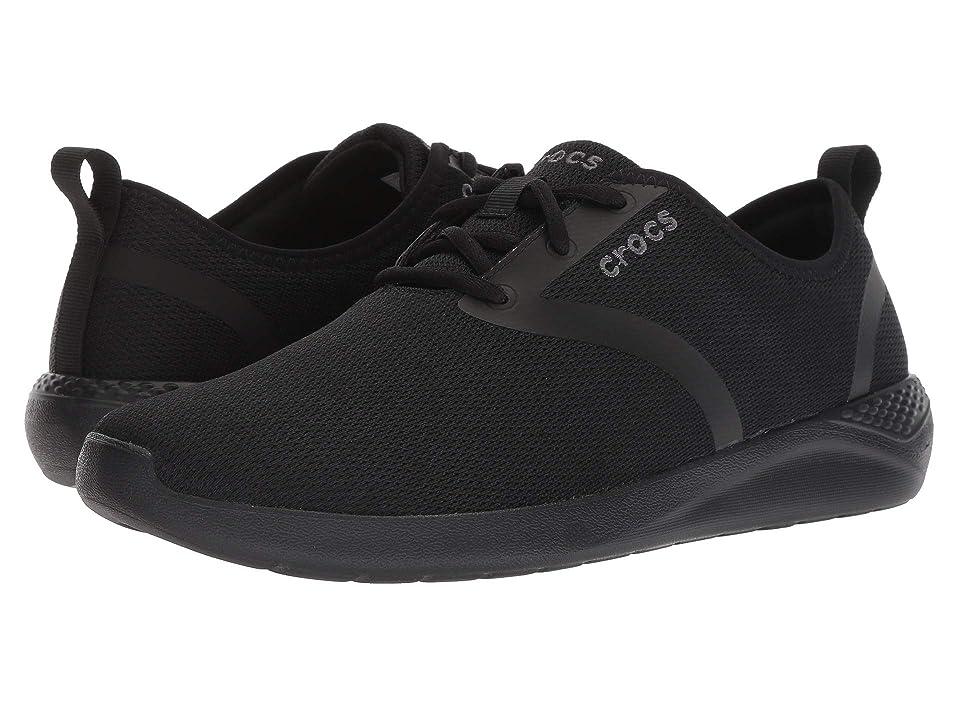 Crocs LiteRide Lace (Black/Black) Men