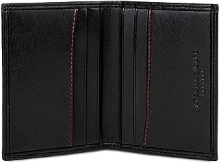 Optexx ® RFID//NFC carte ASTUCCIO Bobby Black da vegi in pelle