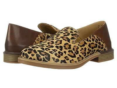 Hush Puppies Bailey Slip-On (Leopard Haircalf) Women