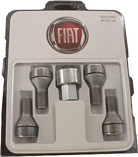 GENUINE FIAT Accessories 82212399 Wheel Lock Kit for Fiat 500/500C