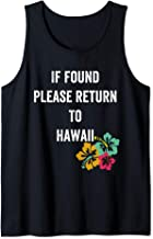 if found please return to hawaii