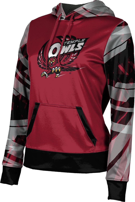 ProSphere Temple University Girls' Pullover Hoodie, School Spirit Sweatshirt (Crisscross)