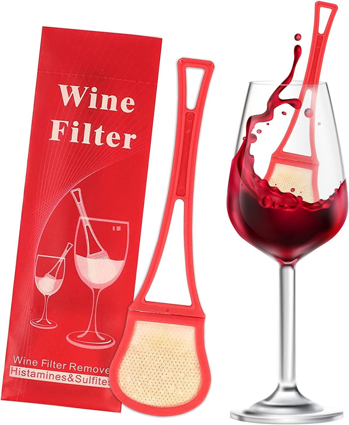 Upgraded wand wine Super sale filter(8 Baltimore Mall remove pack —Effectively