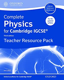 Complete Physics for Cambridge IGCSE® Teacher Resource Pack: Third Edition