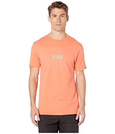 Vans Easy Box Short Sleeve T-Shirt (Emberglow) Men