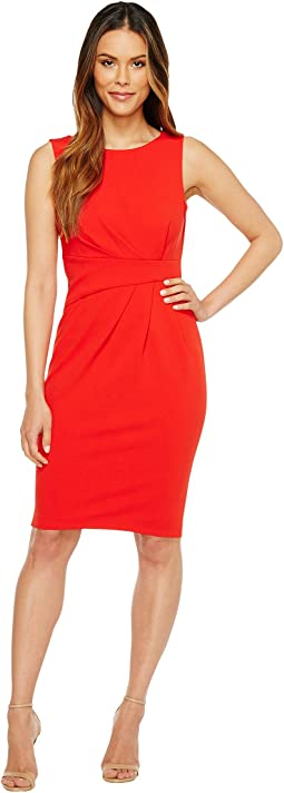Calvin Klein - Ruched Sheath Dress