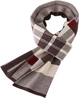 b78eef1599 ZBHW Echarpe Chaude d'automne et d'hiver, écharpes Classiques et élégantes à