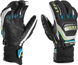 LEKI World Cup Racing Ti S Glove Black/Cyan