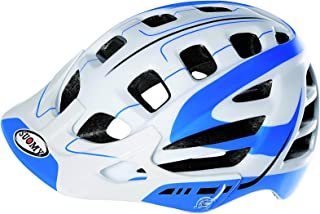 Suomy Scrambler S-Line MTB Helmet (White/Blue, Small/Medium)