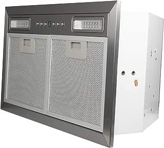 ZLINE 20.5 in. 400 CFM Range Hood Insert with LED Lighting in Stainless Steel