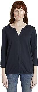 TOM TAILOR Damen Blusenshirt T-Shirt