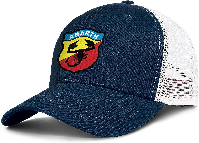Unicorns Farting Mens Womens Baseball Cap Fashion Abarth-Logo- Messy Adjustable Trucker Hat Visor Hats : Clothing, Shoes & Jewelry