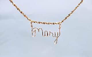 leila name necklace