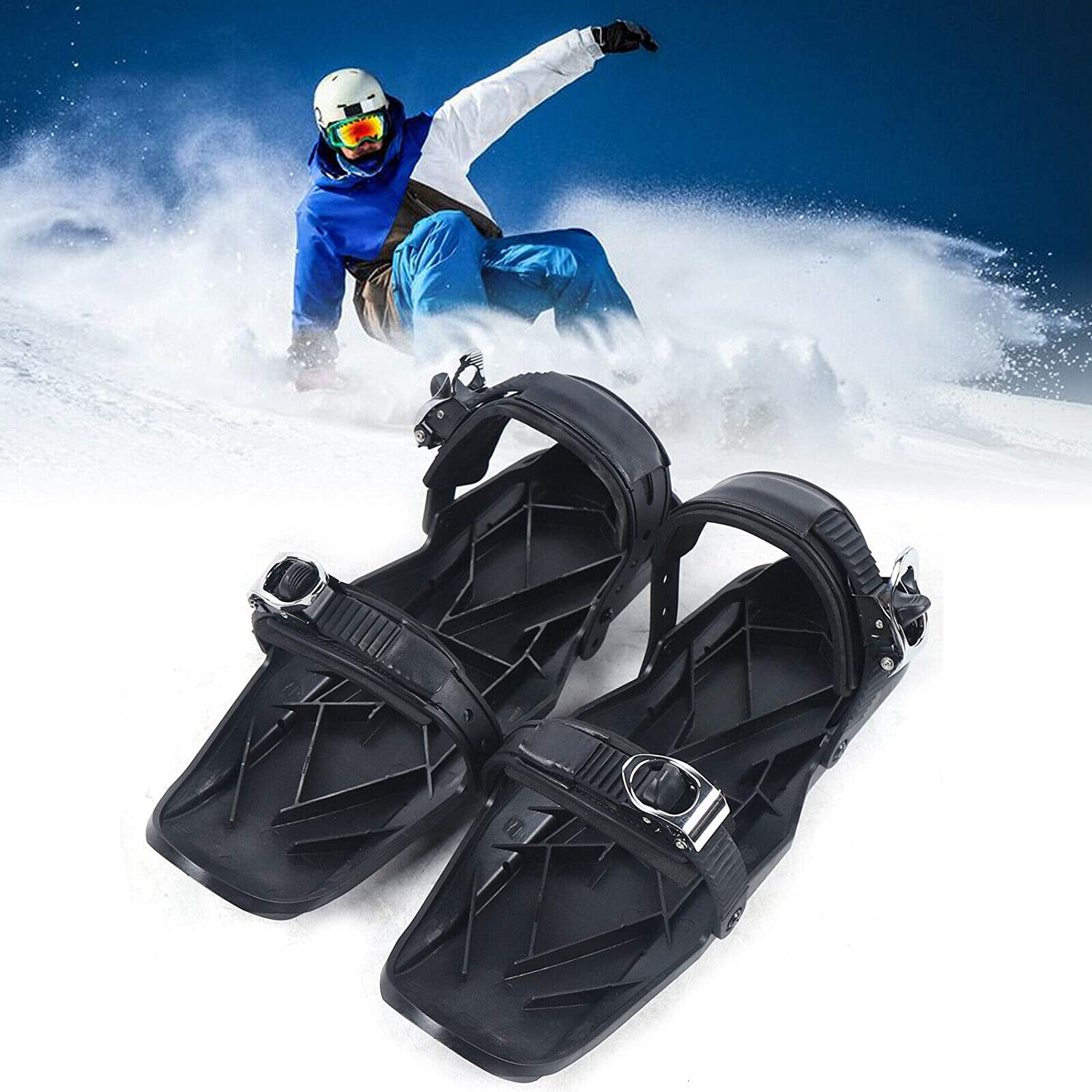 Mini Snow Shoes overseas Upthehill Year-end gift Short Ski for Skiboar
