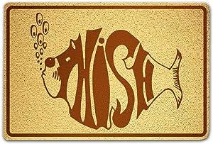 OLESIAstudios Phish Doormat Sweet Home Supplies Décor Accessories Unique Gift Handmade Present Idea Original Design Commercial Outside Inside Personalized Quotes Exterior