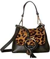 See by Chloe - Mini Joan Leopard Haircalf Crossbody