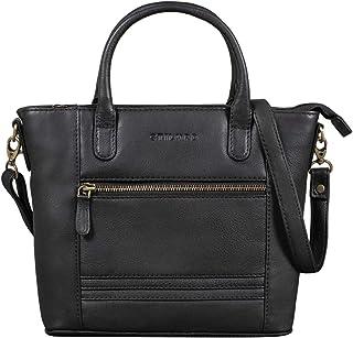 STILORD 'Meghan' Leder Handtasche Damen Umhängetasche Klein Ledertasche für Frauen zum Umhängen und Ausgehen Elegante Schu...