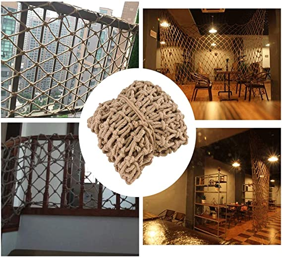 TorchJPA AMultifunctional Rope Net Protective Net White Net Sunshade Net Bird Net Staircase Home Decoration Family Protection Pet Protection Commodity Protection Safety Decoration Site Protect
