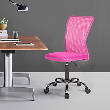 BestMassage Office Chair Desk Chair Computer Chair with Lumbar Support Swivel Rolling Mid Back Mesh Executive Chair for Women