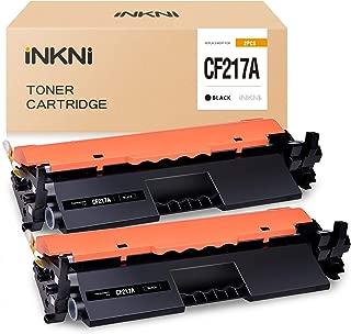 INKNI Compatible Toner Cartridge Replacement for HP 17A CF217A for Laserjet Pro M102w M130nw M130fw M130fn M102a M130a Laserjet Pro MFP M130 M102 (Black, 2-Pack)