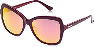 نظارة شمسية بنمط الفراشة للنساء من جيس، عدسات بنفسجية - GU7428-57-17-135 ملم