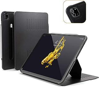 ZUGU iPad Pro 12.9 ケース 2020 第4世代 The Alpha Case 極薄 落下衝撃保護 10段階スタンド機能 ペンホルダー ワイヤレス充電 オートスリープ スマートカバー (ipad pro12.9インチ 4世代 カ...